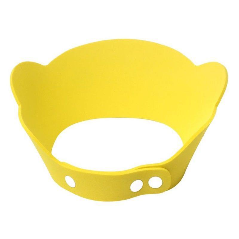 Kinder f/ür Bad Baby-Kopfschutz verstellbare Bade-Shampoo-Hut mit Ohrenschutz Jingtaihua Cartoon-Baby-Duschkappe Kappe sch/ützt Ihre Babyaugen