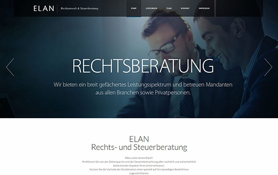 Referenz ELAN Rechtsanwalt